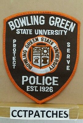 Bowling Green State University, Ohio Police Shoulder Patch Oh