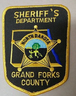 Grand Forks County, North Dakota Sheriff (Police) Shoulder Patch Nd