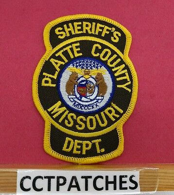 Platie County, Missouri Sheriff (Police) Shoulder Patch Mo
