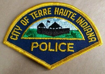 City Of Terre Haute, Indiana Police Shoulder Patch In