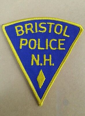 Bristol, New Hampshire Police Shoulder Patch Nh