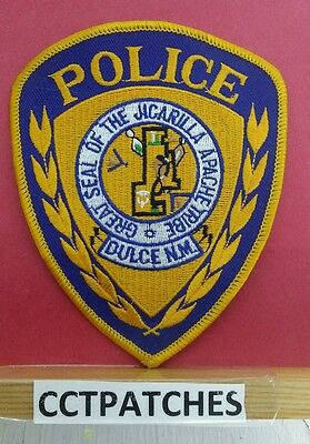 Dulce, New Mexico Jicarilla Apache Tribe Indian Police Shoulder Patch Nm