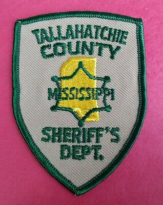 Tallahatchie County, Mississippi Sheriff (Police) Shoulder Patch Ms