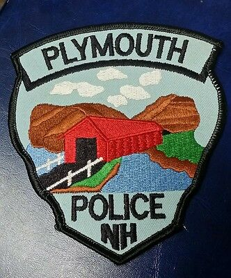 Plymouth, New Hampshire Police Shoulder Patch Nh