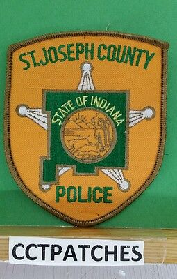 St Joseph County, Indiana Police Shoulder Patch In