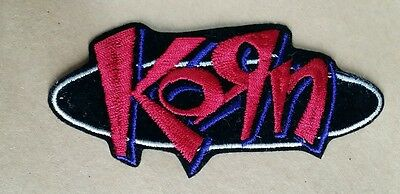 "Korn Rock Band Patch 4 1/4"" X 2"""