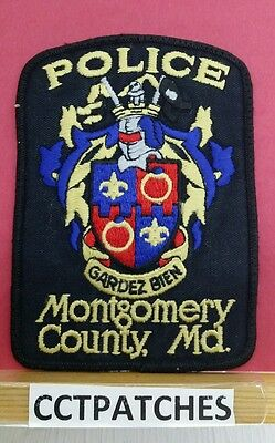 Montgomery County, Maryland Police Shoulder Patch Md 2