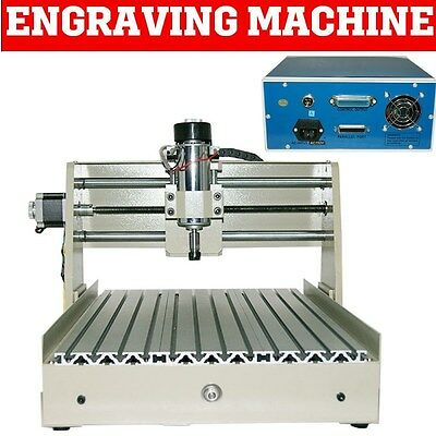 400W 4 Axis Cnc 3040 Router Drilling&milling Engraver Machine 3D Engraving Mach3