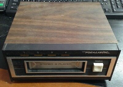 Realistic Stereo 8 Track Tape Player 14-935 TR-169