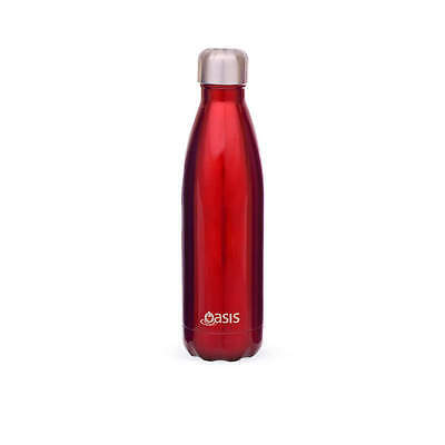 D.Line Oasis 750ml Red Double Wall Insulated Bottle RRP $28.99