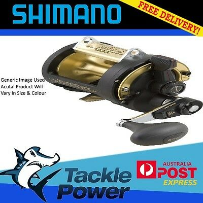 Shimano TLD 50LRSA 2 Speed Overhead Fishing Reel Brand New! Tuna Marlin Shark