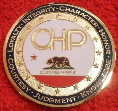 California Highway Patrol 2017 Challenge Coin (Ela Chp Lapd Police)