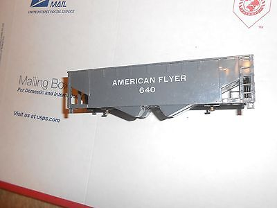 Vintage American Flyer #640 Hopper Car for Parts or Repair