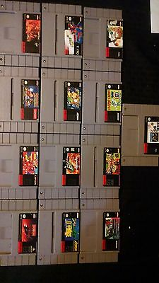 13 Super Nintendo Game Lot