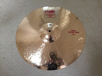 "20"" Paiste 2002 Wild Crush Ride"
