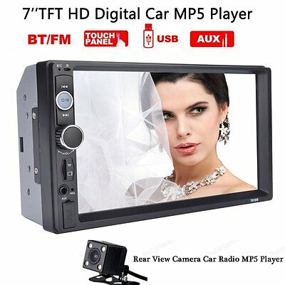 """7"""" """"Touch Screen Car Radio 2 DIN MP5 Player with Parking Reversing Camera"""