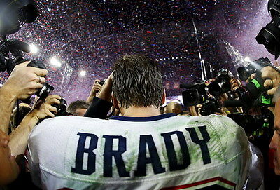 "017 Tom Brady - New England Patriots Super Bowl MVP NFL Player 20""x14"" Poster"