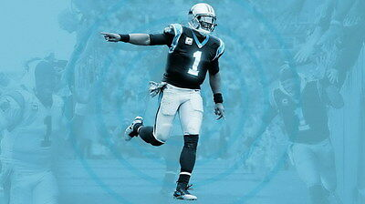"033 Cam Newton - Carolina Panthers NFL Player 24""x14"" Poster"