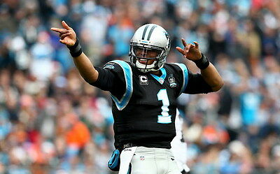 "002 Cam Newton - Carolina Panthers NFL Player 22""x14"" Poster"