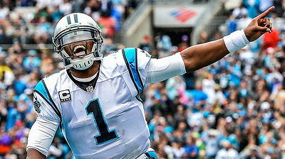 "048 Cam Newton - Carolina Panthers NFL Player 24""x14"" Poster"