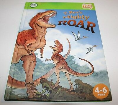 Leap Frog Tag Reader System Storybook T.rex's Mighty Roar Book