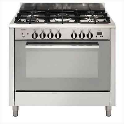 900mm Emilia  Freestanding Five Gas burners & Electric Oven Stoves