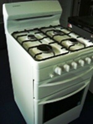 540mm Westinghouse Freestanding Nature Gas white Stove