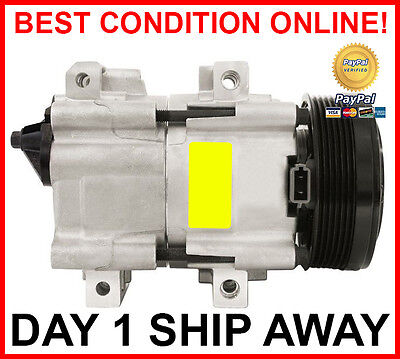 AIR CONDITIONING COMPRESSOR For FORD AU FALCON FAIRMONT 4.0L 6 CYL & 5.0L V8