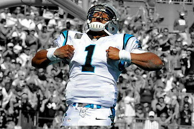 "011 Cam Newton - Carolina Panthers NFL Player 36""x24"" Poster"