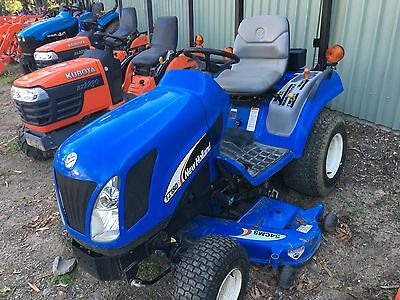 New Holland 20HP 4x4 Tractor 54inch Mower Deck As New HST Delivery 300k