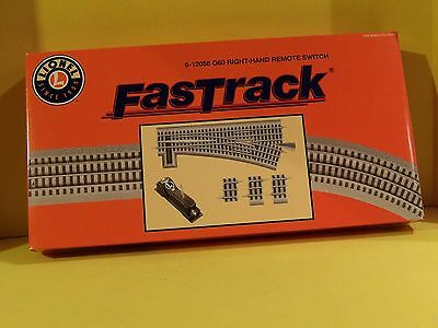 Lionel Fastrack O-60 Right Hand Remote Switch, 6-12058, O-Gauge