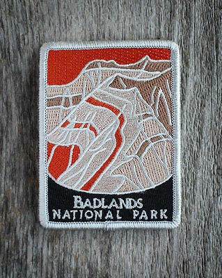 Badlands National Park Souvenir Patch Traveler Series South Dakota