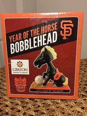 Bobblehead Year of the Horse Chinese Heritage SF San Francisco Giants 4/29/2014