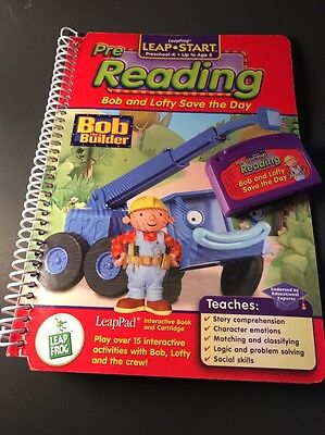Leap Frog LeapPad - Pre Reading Bob the Builder