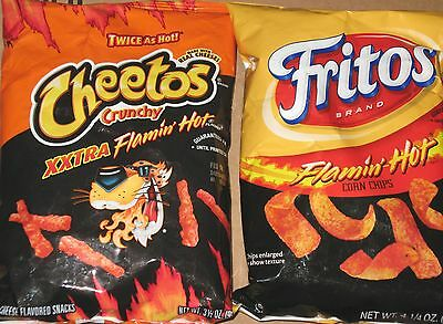 Cheetos & Fritos for Lovers  For Cheesy & Corny Hot Lovers