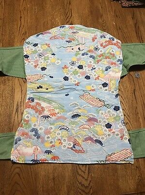 Sash Wrap and Tie Mei Tai Carrier from Etsy Handmade Oriental Scene