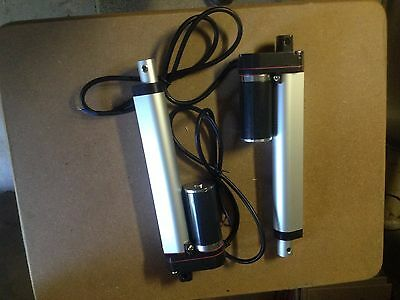 2 Linear Actuator Motors 12V 2000N , 150mm, Electric Industry Lift, wireless