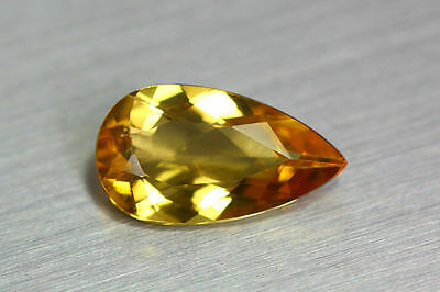 3.310 Ct Dazzling Aaa+ Golden Yellow 100%natural Heliodor Beryl Rare Unique Gem!