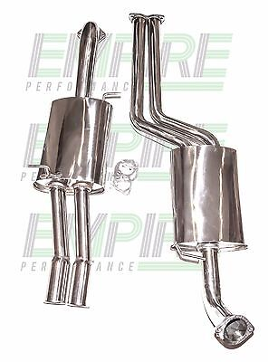 "Ford Falcon Ba-Bf Xr8 / Xr6 Turbo Ute 3"" Stainless Cat Back Exhaust"