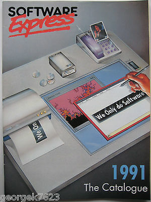 Software Express computer software catalogue - 1991 - 66 pages + price list