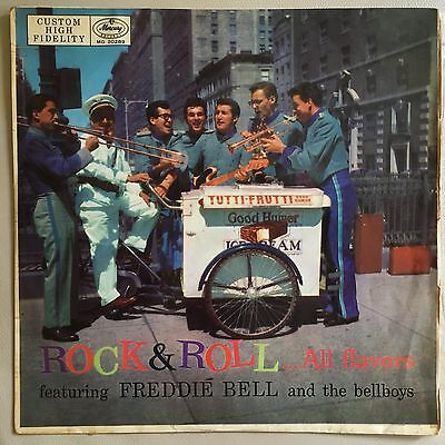 Freddie Bell and the Bellboys - Rock & Roll All Flavors - Orig 1957 OZ Press LP