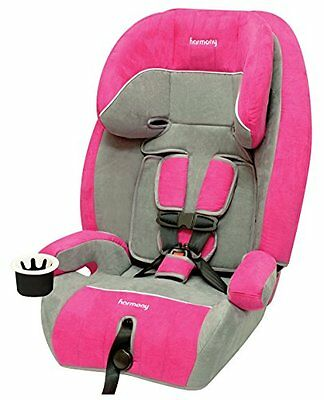 NEW Harmony Defender 360 3-in-1 Booster Car Seat, Raspberry FREE SHIPPING