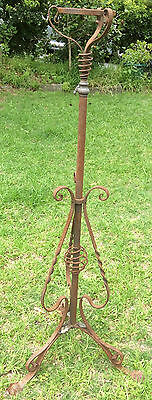 Antique Kerosene Lamp Stand