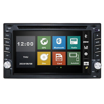 "Digital Double 2 Din 7"" Car DVD CD MP3 Player HD In Dash TV FM Stereo Radio"
