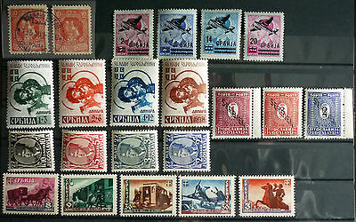 SERBIA-STAMPS-NICE COLLECTION-VERY GOOD CONDITION R! yugoslavia serbien wwii J1