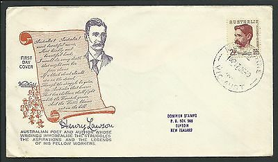 Australia - 1949 First Day Cover - Henry Lawson - 1 Stamp - Z805