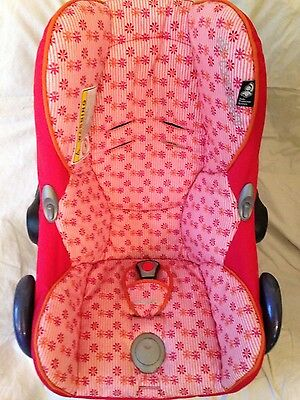 Maxi Cosi CabrioFix Spare/Replacement Car Seat Cover in Rare Pink Happy Flowers