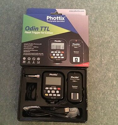 Phottix Odin Ttl Wireless Trigger & Receiver For Canon High Speed Sync