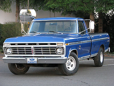1973 Ford F-100  1973 Ford F-100 Ranger XLT - 1 FAMILY OWNED CAMPER SPECIAL;CLEAN, READY TO GO !!