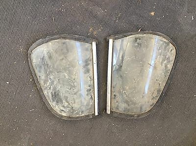 HOLDEN FE FC UTE REAR CORNER WINDOWS WITH STAINLESS Free POSTAGE